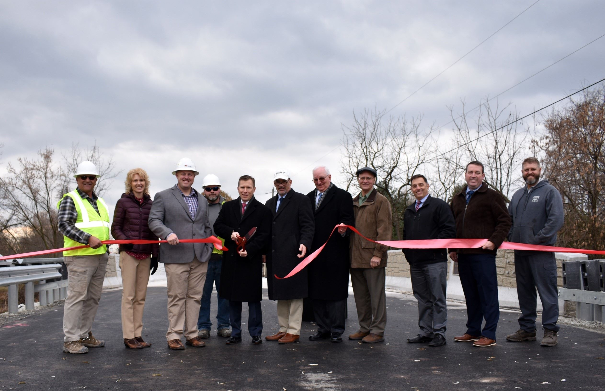 Conoy Bridge Ribbon Cutting