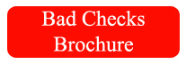 Bad Checks Brochure